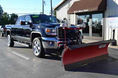 2019 GMC Sierra 2500HD for sale at Nick's Motor Sales LLC in Kalkaska MI