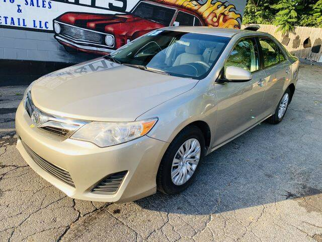 2013 Toyota Camry for sale at M&M's Auto Sales & Detail in Kansas City KS