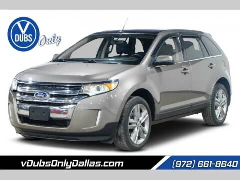 2012 Ford Edge for sale at VDUBS ONLY in Dallas TX