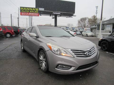 2012 Hyundai Azera for sale at Hanna's Auto Sales in Indianapolis IN