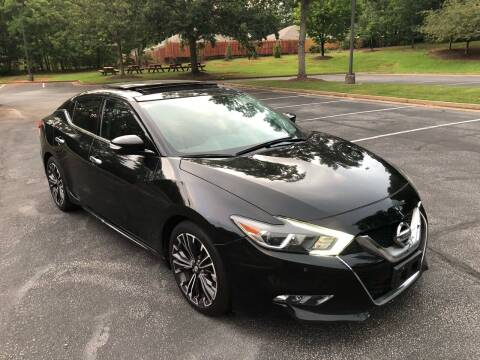 2016 Nissan Maxima for sale at Top Notch Luxury Motors in Decatur GA