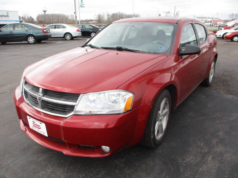 2008 Dodge Avenger for sale at KAISER AUTO SALES in Spencer WI