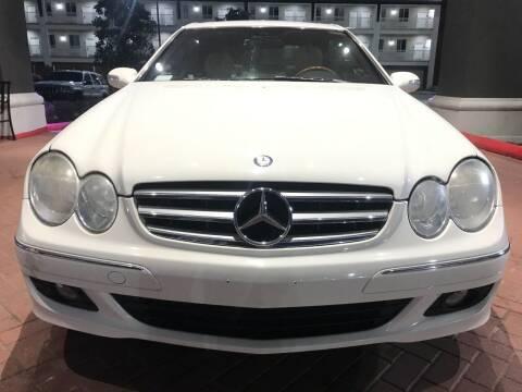 2009 Mercedes-Benz CLK for sale at EMPIREIMPORTSTX.COM in Katy TX