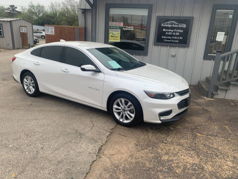 2017 Chevrolet Malibu for sale at Rutledge Auto Group in Palestine TX