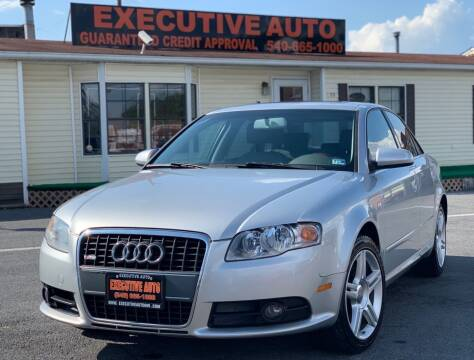 2008 Audi A4 for sale at Executive Auto in Winchester VA