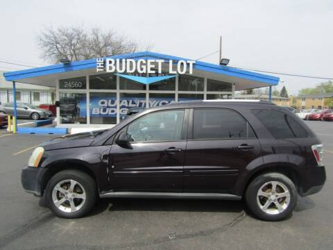 2007 Chevrolet Equinox for sale at THE BUDGET LOT in Detroit MI