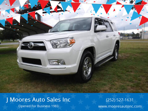 2013 Toyota 4Runner for sale at J Moores Auto Sales Inc in Kinston NC