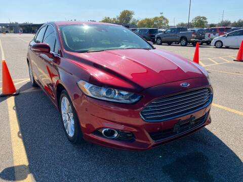 2013 Ford Fusion Energi for sale at KAYALAR MOTORS in Houston TX