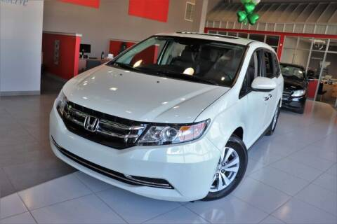 2016 Honda Odyssey for sale at Quality Auto Center of Springfield in Springfield NJ