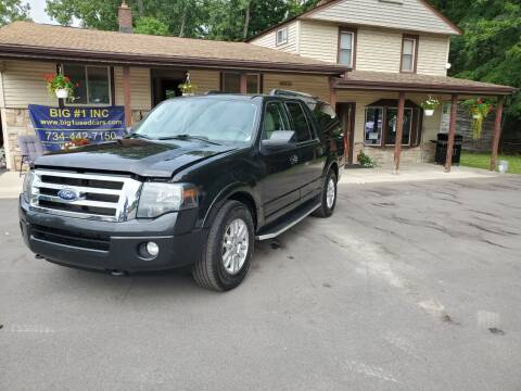 2012 Ford Expedition EL for sale at BIG #1 INC in Brownstown MI