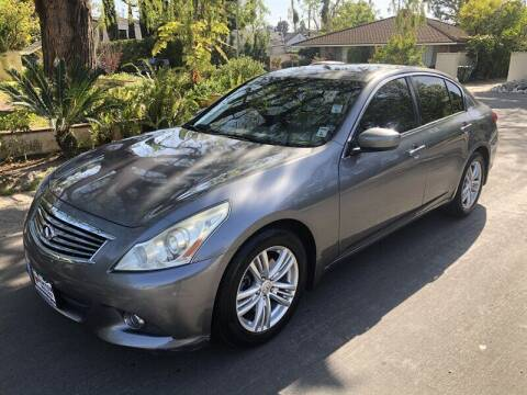 2011 Infiniti G25 Sedan for sale at Boktor Motors in North Hollywood CA