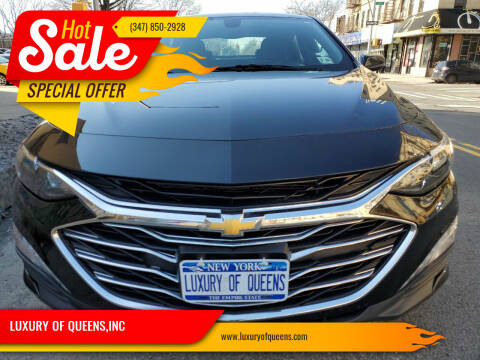 2019 Chevrolet Malibu for sale at LUXURY OF QUEENS,INC in Long Island City NY