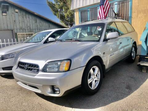 2004 Subaru Outback for sale at Top Gun Auto Sales, LLC in Albuquerque NM