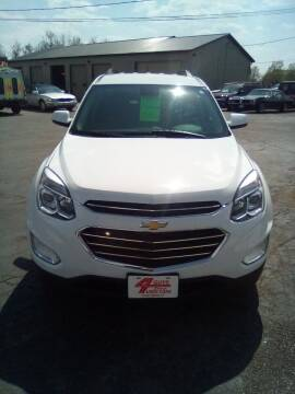 2017 Chevrolet Equinox for sale at Four Guys Auto in Cedar Rapids IA