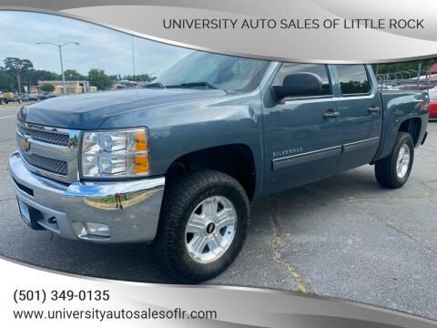 2013 Chevrolet Silverado 1500 for sale at University Auto Sales of Little Rock in Little Rock AR