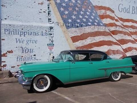 1957 Cadillac DeVille for sale at LARRY'S CLASSICS in Skiatook OK