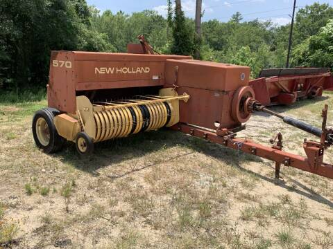 New Holland 570 Square Baler for sale at Vehicle Network - Mills International in Kinston NC