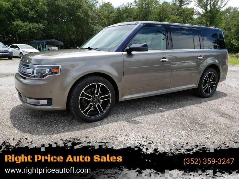 2014 Ford Flex for sale at Right Price Auto Sales in Waldo FL