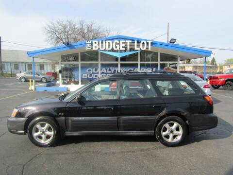 2004 Subaru Outback for sale at THE BUDGET LOT in Detroit MI