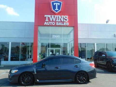 2019 Subaru WRX for sale at Twins Auto Sales Inc Redford 1 in Redford MI