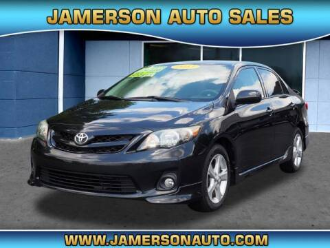 2013 Toyota Corolla for sale at Jamerson Auto Sales in Anderson IN