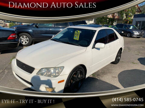 2002 Lexus IS 300 for sale at Diamond Auto Sales in Milwaukee WI