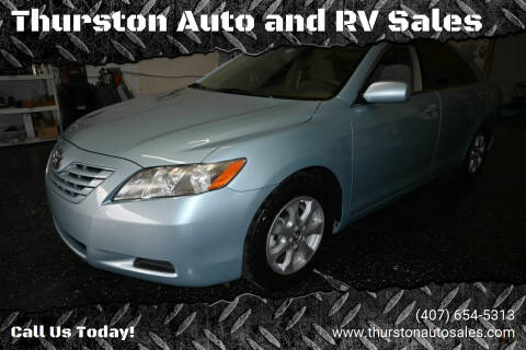 2009 Toyota Camry for sale at Thurston Auto and RV Sales in Clermont FL
