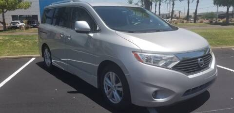 2012 Nissan Quest for sale at Greenlight Auto Broker in Tempe AZ