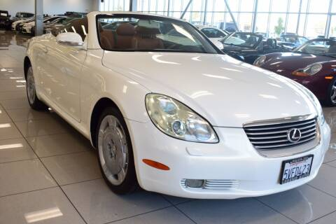 2003 Lexus SC 430 for sale at Legend Auto in Sacramento CA