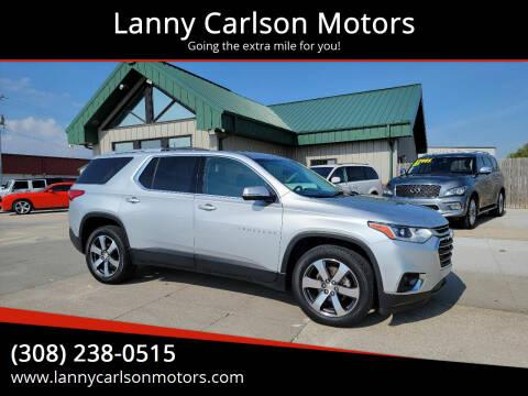 2018 Chevrolet Traverse for sale at Lanny Carlson Motors in Kearney NE
