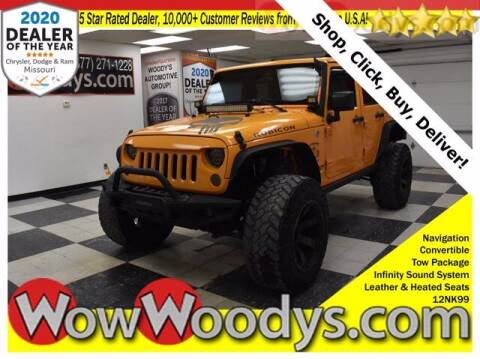 2012 Jeep Wrangler Unlimited for sale at WOODY'S AUTOMOTIVE GROUP in Chillicothe MO
