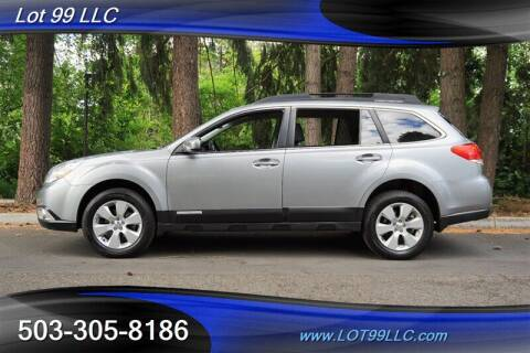 2011 Subaru Outback for sale at LOT 99 LLC in Milwaukie OR