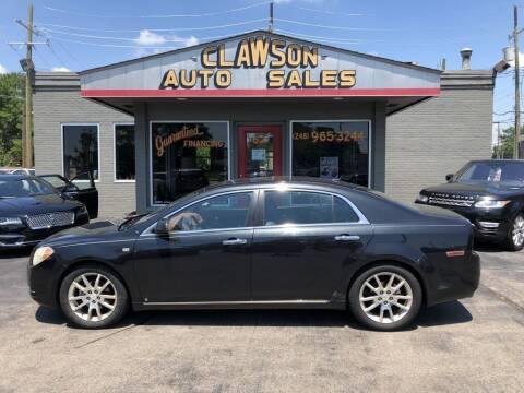 2008 Chevrolet Malibu for sale at Clawson Auto Sales in Clawson MI