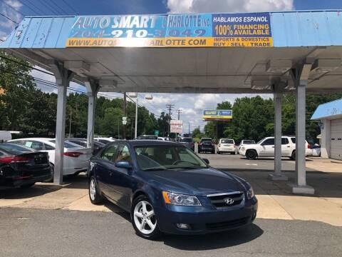 2007 Hyundai Sonata for sale at Auto Smart Charlotte in Charlotte NC