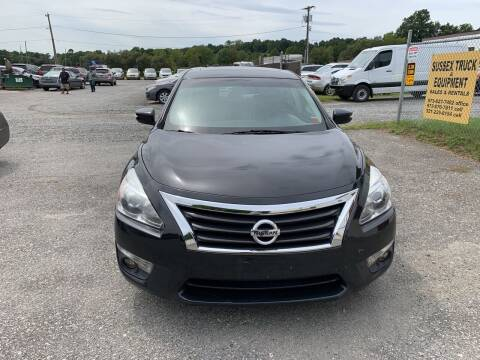 2013 Nissan Altima for sale at Ron Motor Inc. in Wantage NJ