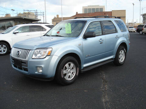 2009 Mercury Mariner for sale at Shelton Motor Company in Hutchinson KS