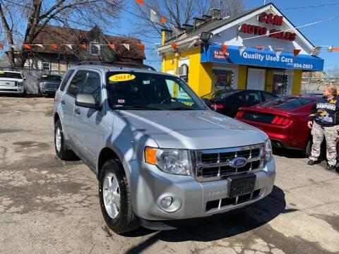2011 Ford Escape for sale at C & M Auto Sales in Detroit MI