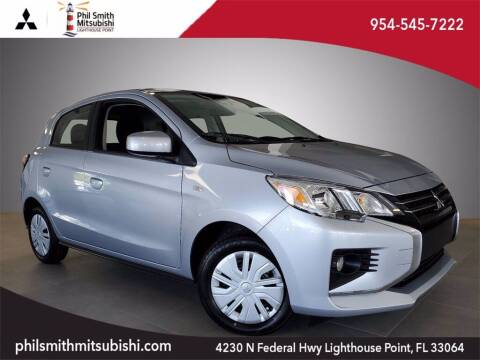 2021 Mitsubishi Mirage for sale at PHIL SMITH AUTOMOTIVE GROUP - Phil Smith Kia in Lighthouse Point FL