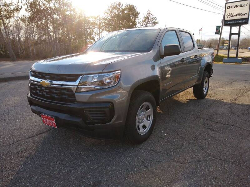 2021 Chevrolet Colorado for sale at KATAHDIN MOTORS INC /  Chevrolet & Cadillac in Millinocket ME