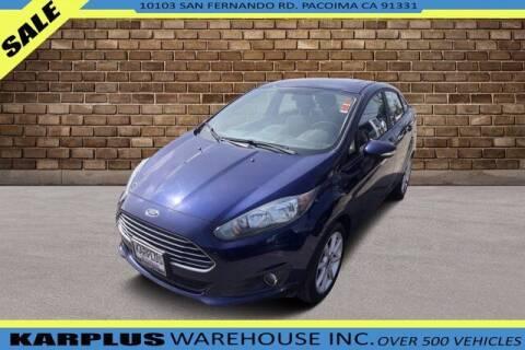 2016 Ford Fiesta for sale at Karplus Warehouse in Pacoima CA