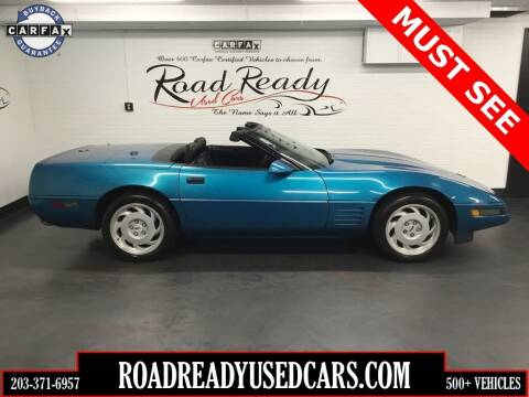 1992 Chevrolet Corvette for sale at Road Ready Used Cars in Ansonia CT
