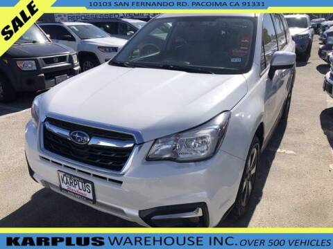 2018 Subaru Forester for sale at Karplus Warehouse in Pacoima CA