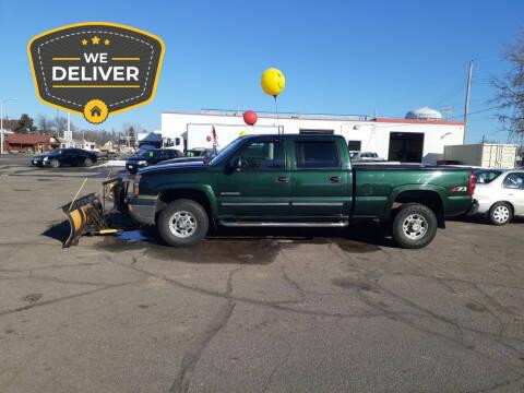 2003 Chevrolet Silverado 2500HD for sale at Tower Motors in Brainerd MN
