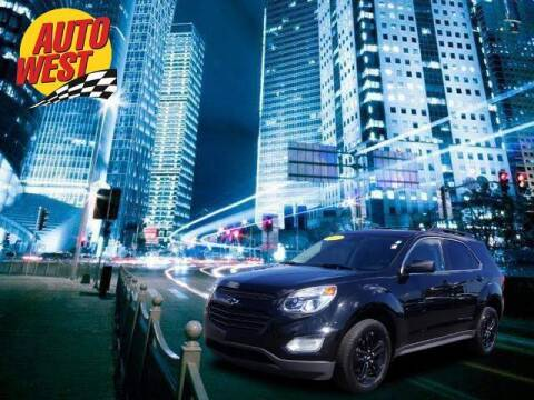 2017 Chevrolet Equinox for sale at Autowest of Plainwell in Plainwell MI