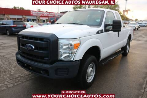 2015 Ford F-250 Super Duty for sale at Your Choice Autos - Waukegan in Waukegan IL