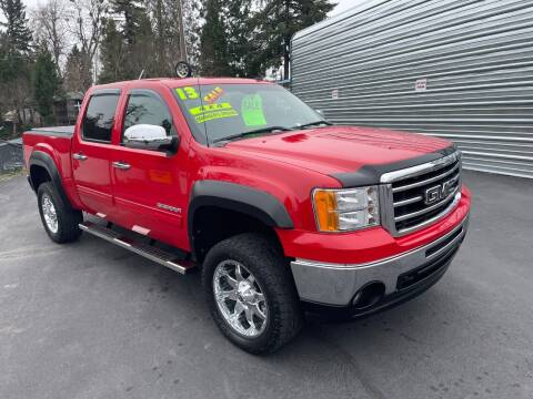 2013 GMC Sierra 1500 for sale at 3 BOYS CLASSIC TOWING and Auto Sales in Grants Pass OR