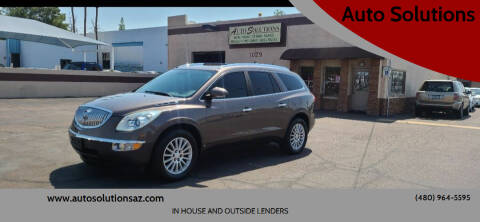 2010 Buick Enclave for sale at Auto Solutions in Mesa AZ