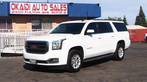 2015 GMC Yukon XL for sale at Okaidi Auto Sales in Sacramento CA