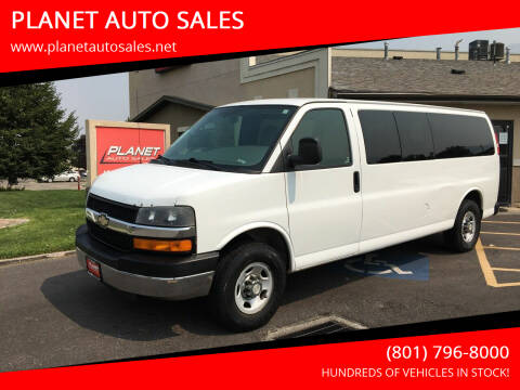 2008 Chevrolet Express Passenger for sale at PLANET AUTO SALES in Lindon UT