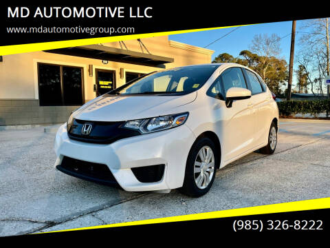 2017 Honda Fit for sale at MD AUTOMOTIVE LLC in Slidell LA